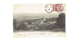 Cpa - 54 - Vandoeuvre - Environs De Nancy - Vue Générale - N°344 Helmlinger - 1905 - Vandoeuvre Les Nancy