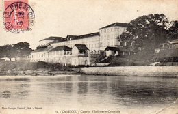 CPA CAYENNE - CASERNE D'INFANTERIE COLONIALE - Cayenne