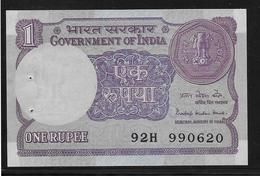 Inde - 1 Ruppee - Pick N°78A - SPL - India