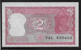 Inde - 2 Ruppees - Pick N°53A - SPL - Inde