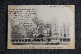 PARIS - Exposition De 1900, Pavillons Étrangers : NORVÈGE, ALLEMAGNE Et ESPAGNE - Ausstellungen