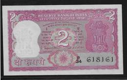 Inde - 2 Ruppees - Pick N°52 - SPL - Inde