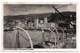 Tarjeta Postal De Chile, Valparaiso. Panorama De La Bahia. - Chile
