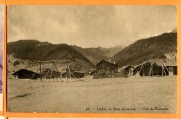 Oct097, Vallée Du Rhin, Près De Disentis, 23, Compagnie Suisse Du Chemin De Fer De La Furka, Circulée Sous Enveloppe - GR Grisons