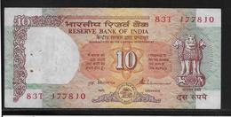 Inde - 10 Ruppees - Pick N°88 - TTB - Inde
