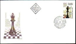 European Chess Championship In Plovdiv -  Bulgaria / Bulgarie 2003 -  FDC - Chess