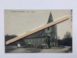 GENAPPE-ENVIRONS DE GENAPPE «WAYS EGLISE «Panorama, Belles Animations (1924) Édit Henri Lutte  E.DESAIX . - Genappe