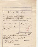 PAYMENT NOTE, RETAINER, HUNGARIAN REVENUE STAMP, 4X, 1943, ROMANIA - Invoices & Commercial Documents