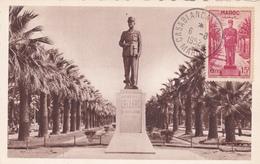 Carte-Maximum MAROC N° Yvert 300 (LECLERC) Obl Sp 1952 - Marokko (1891-1956)