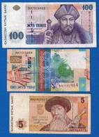 Kazakistan  6  Billets  Dan  L'etat - Kazakhstan