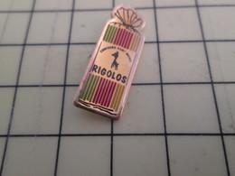 617 Pin's Pins / Beau Et Rare : Thème ALIMENTATION / PAQUET DE BONBONS LES RIGOLOS CONFISERIE ST MICHEL - Food