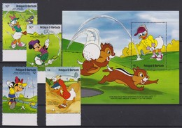 2097 Walt Disney Antigua & Barbuda ( GOLF FANATICS ) - Disney