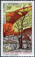 New Caledonia 1973 MNH Halte Aux Feux De Brousse - Unused Stamps