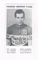 VANDEN BERGHE Freddy  Wielrenner Coureur Cycliste  Flandria - Radsport