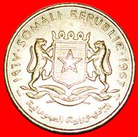 # STARS: SOMALIA ★ 10 CENTS 1967 MINT LUSTER! LOW START ★ NO RESERVE! - Somalia
