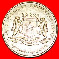 # STARS: SOMALIA ★ 10 CENTS 1967 MINT LUSTER! LOW START ★ NO RESERVE! - Somalie