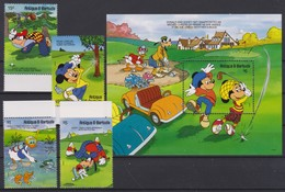 2100 Walt Disney Antigua & Barbuda ( GOLF FANATICS ) - Disney