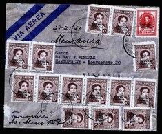 A5528) Argentinien Argentina Luftpostbrief 1953 N. Hamburg / Germany - Argentinien