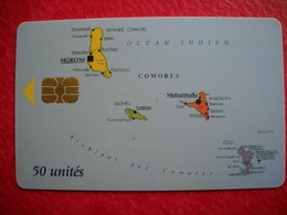 Télecarte Comores . 2 Photos - Comoros
