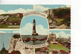 Postcard - Eastbourne Five Views - Unused Never Posted  Very Good - Unclassified