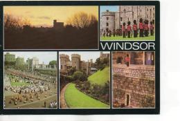 Postcard - Windsor - 5 Views - Posted  19th May 1997 Very Good - Unclassified