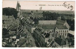 CPA Bergues, Vue Prise Du Haut Du Beffroi (pk48087) - Bergues