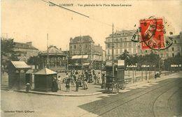 Cpa LORIENT 56 Vue Générale De La Place Alsace Lorraine - Lorient