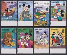2106 Walt Disney Antigua & Barbuda ( HONG KONG 1994 EXPO FILATELIC ) - Disney
