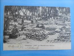 CARTE POSTALE CAVAILLON LE MARCHE AUX MELONS - Marchés