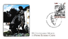 A08376)Vatikan 1698 FDC - FDC