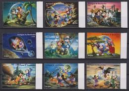 2107 Walt Disney Antigua & Barbuda ( JULES VERNE ) - Disney