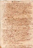 LETTRES MANUSCRITES CONCERNANT LA FAMILLE ROBY DE NAVARRENX - Réf. N°138F - - Manuscrits