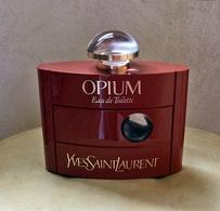 """Ancien Flacon De Parfum """"OPIUM"""" D'YVES ST LAURENT EDT 120 Ml VIDE Pour Collection Ou Décoration - Bottles (empty)"""