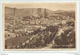 TRIESTE PANORAMA  VIAGGIATA FP - Trieste