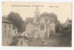 71 Saint Maurice De Satonnay, L'église Et L'asile. Carte Inédite (3489) - France