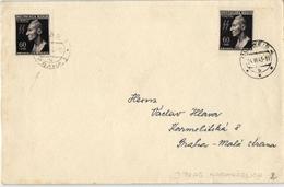 Böhmen Und Mähren - Beleg Aus Budweis 1943 (576220) - Bohemia & Moravia