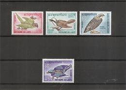 Laos - Oiseaux  ( 127/130 XXX -MNH) - Laos