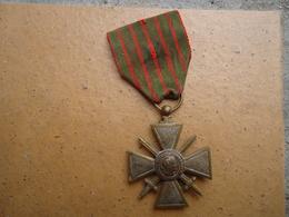 Médaille Croix De Guerre 1914-1918 - Frankreich