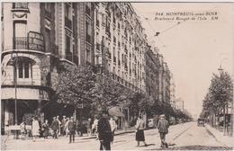 Seine Saint Denis : MONTREUIL  Sous  BOIS : Boulevard  Rouget De  L  Isle - Montfermeil