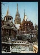 Hungría. Budapest *Fishers'Bastion* Foto: Czeizing Lajos. Circulada 1968. - Hungría