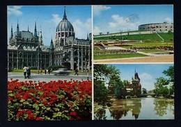 Hungría. Budapest *Greetings From Budapest* Foto: Czeizing - Inkey - MTI Jármai. Circulada 1969. - Hungría