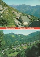 """Sambusita Fraz. Di Algua (Bergamo) Valle Brembana, Vedute Del Villaggio """"La Baita"""" - Bergamo"""