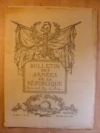 BULLETIN DES ARMEES N°199 - 21 JUIN 1916 - TRISTAN BERNARD - BULLETIN DES ARMEES DE LA REPUBLIQUE - Poilus 1914/1918 - French