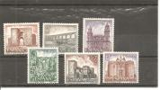 España/Spain-(MNH/**) - Edifil  2417-22 - Yvert  2063-68. - 1971-80 Nuevos & Fijasellos