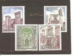 España/Spain-(MNH/**) - Edifil 2527-30 - Yvert 2178-81 - 1971-80 Nuevos & Fijasellos
