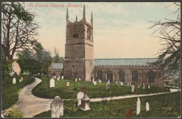 St Petrox Church, Bodmin, Cornwall, 1906 - Valentine's Postcard - England