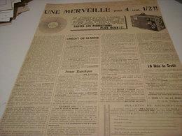 ANCIENNE PUBLICITE APPAREIL PHOTO LE RADIEUX 1899 - Other