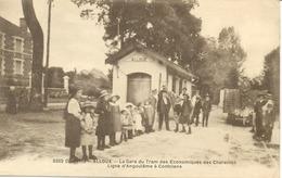 Alloue-La Gare Du Tram Des économiques Des Charentes (ligne Angoulême Confolens ) - France