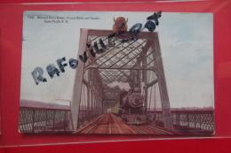 C P  Missouri River Bridge Council Bluffs And Omaha Union Pacific R R - Etats-Unis