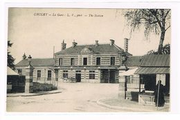 CPA. Cholet. La Gare. The Station.       (422) - Cholet